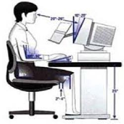 دانلود تحقیق ارگونومی و راه های جلوگیری از خستگی در  کار با كامپیوتر